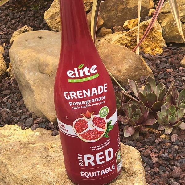 Instagram Elite naturel grenade red